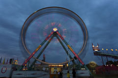 Ferris wheel at the fair at dark Stock Photography