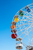 Ferris wheel on a fair Royalty Free Stock Images