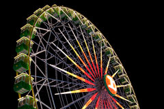 Ferris wheel. On the fair of El Puerto de Santa Maria Stock Image