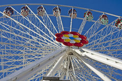 Ferris wheel at the fairground Stock Photos