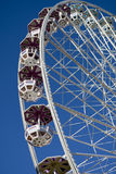 Ferris wheel at the fairground Royalty Free Stock Photos