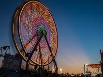 Ferris Wheel At Fall Carnival immagine stock libera da diritti