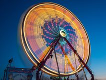 Ferris Wheel At Fall Carnival fotografia stock libera da diritti