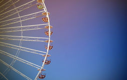 Ferris wheel. Feel good on this wheel Stock Images