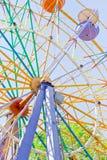Ferris wheel. In retro vintage style Royalty Free Stock Photo