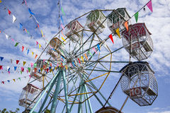Ferris wheel in festival Royalty Free Stock Image