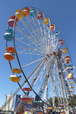 Ferris wheel. At the Florida State Fairground stock photography