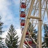 Ferris Wheel in Fremantle lizenzfreies stockfoto