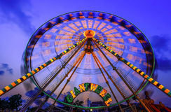 Ferris wheel Stock Images