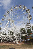 Ferris wheel in the garden named after Karaev in the resort town of Evpatoria Stock Photography