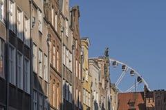 Ferris wheel in Gdansk Royalty Free Stock Image