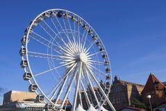 Ferris wheel in Gdansk Royalty Free Stock Photo