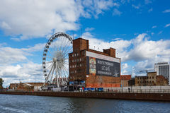 Ferris wheel, Gdansk Royalty Free Stock Photos