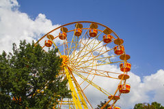 Ferris wheel in Gelendzhik Royalty Free Stock Photography