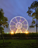 Ferris Wheel. The glamorous night of Ferris Wheel in Fengling  children's park of Nanning,Guangxi,China Royalty Free Stock Photography