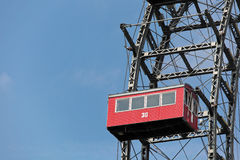 Ferris wheel gondola car Stock Photography