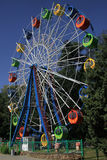 Ferris wheel in Gorki park of Taganrog, Russia Royalty Free Stock Images