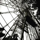 Ferris wheel. Gorky Park, marry-go-round Stock Photo