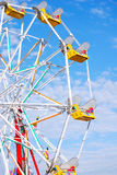 Ferris Wheel (half view) stock photos