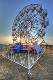 Ferris wheel HDR. HDR photo of Ferris wheel Royalty Free Stock Images