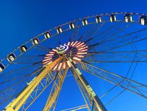 Ferris wheel on the promenade of Rimini. Italy Stock Image