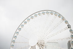 Ferris Wheel in Hong Kong Stock Photography