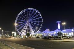 Ferris Wheel i Abu Dhabi Royaltyfria Foton