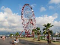 Ferris Wheel i Batumi, Georgia Arkivfoto
