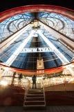 Ferris Wheel i Ghent royaltyfria bilder