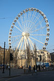 Ferris Wheel i Manchester Royaltyfri Fotografi