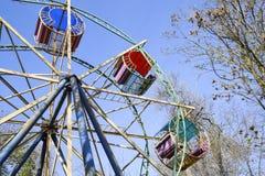 Ferris Wheel Ferris Wheel i staden parkerar Royaltyfri Foto
