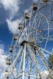Ferris Wheel i staden parkerar Höst Arkivbilder