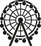 Ferris wheel icon. Fun vector Stock Photos