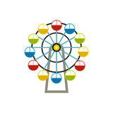 Ferris wheel icon Stock Photo