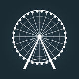 Ferris Wheel icon. Stock Photos