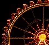 Ferris wheel illuminated Stock Photos