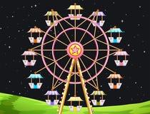 Ferris Wheel. Illustration of a giant ferris wheel Royalty Free Stock Photography