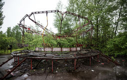 Ferris Wheel In Pripyat Park Royalty Free Stock Photos