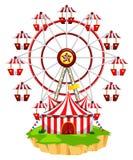 Ferris wheel on island Stock Photography