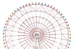 Ferris wheel isolated Stock Photo