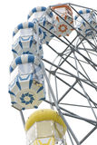 Ferris wheel isolated. Royalty Free Stock Photo