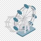Ferris wheel isometric icon Royalty Free Stock Image