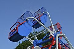 Ferris Wheel ist leer stockfotografie