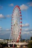 Ferris wheel in Japan. Motorway service areas in Japan, stands next to a giant Ferris wheel, beautiful scenery and memorable Royalty Free Stock Image