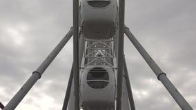 Ferris wheel. 4K. stock footage