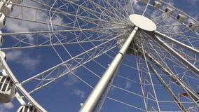 Ferris wheel. 4K. stock video footage