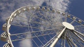 Ferris wheel. 4K. stock video