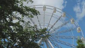 The Ferris wheel stock footage