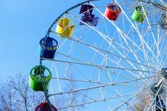 Ferris Wheel, Karussell Lizenzfreie Stockfotografie