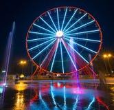 Ferris wheel in Kharkiv Royalty Free Stock Images